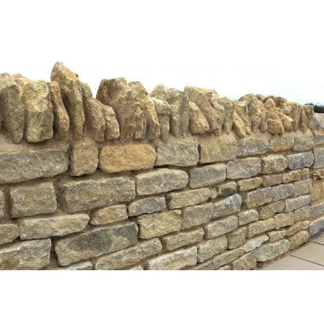 Walling Stone - Church Limestone - Mixed Size