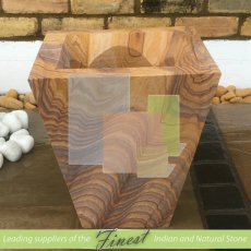 Plant Pot - Rainbow Triangle 40cm x 30cm x 35cm