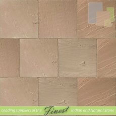 Paving - Raj Green Sandstone - H/D Edge - 22mm Calibrated - 60cm x 60cm
