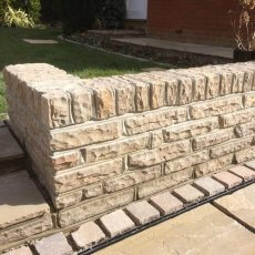 Walling Stone - Raj Green - Mixed Size Box