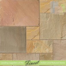 Camel Dust - Sandstone - Patio Pack x 22mm - H/D Edge