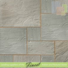 Kandla Grey - Sandstone - Patio Packs x 22mm - H/D Edge