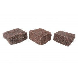 Red Indian - Granite - 10cm x 10cm - H/D Edge