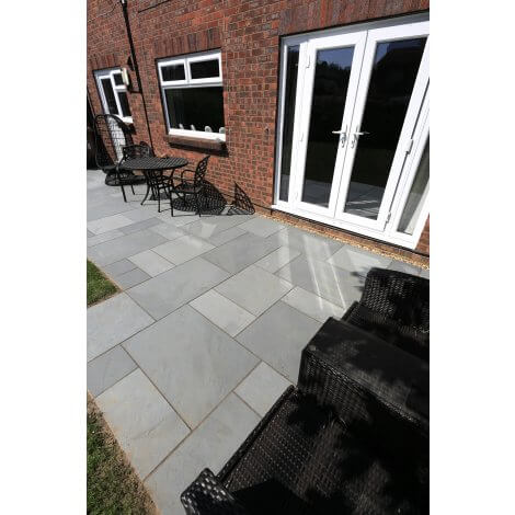 Brazilian Grey - Slate - Patio Pack x 22mm - Sawn Edge
