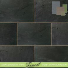 Riven Blue - Slate -  90cm x 60cm x 22mm - Sawn Edge