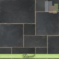 Kota Black - Limestone - Patio Pack x 22mm - H/D Edge