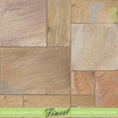 Rippon Buff - Sandstone - Patio Pack x 22mm - H/D Edge