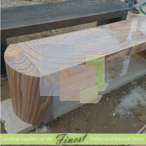 Benches - Rainbow Straight Seat with Curved Legs