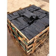 Kota Black - Limestone - Mixed Size Box