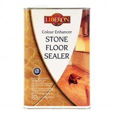 Liberon Colour Enhancer Sealer  - Natural Stone Protector - 5L