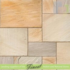 Fossil Mint - Sandstone - Patio Pack x 22mm - H/D Edge