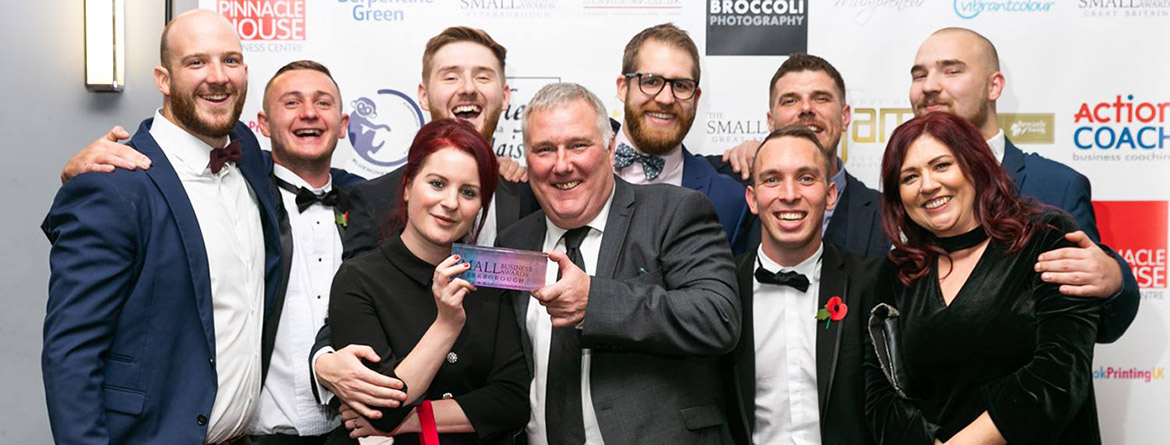 Primethorpe Paving Small Business Award Winners